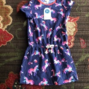 NWT Hatley unicorn Dress size 8.